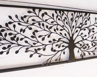 metal wall art decor metal wall decor metal tree wall art tree decor - Large Metal Wall Decor