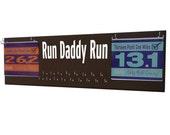 Running medal holder - holder for medals, gifts for dad, dad gifts, run daddy run, Gifts for runners , runner dad, present for father