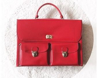 Mod Box Purse, 1970s Fashion, Vintage Celebrity NY brand