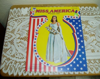 Whitman Miss America Paper Doll 1979