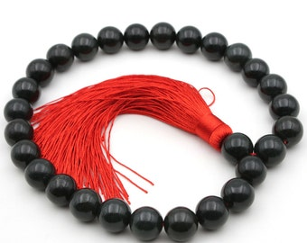 17mm x 17mm Jade Tibetan Buddhist Prayer Beads Mala  B027-QY004