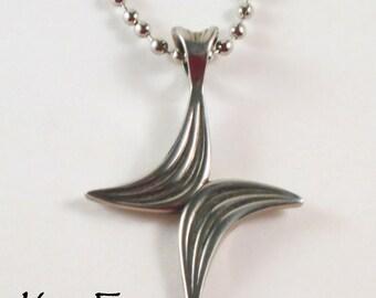 Large Butterfly Cross in Silver
