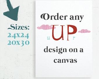 Canvas Art, Home Decor, Nursery Canvas, Bedroom Decor, Canvas gift, Gallery Wrap Canvas, 24x24 canvas, 20x30 canvas