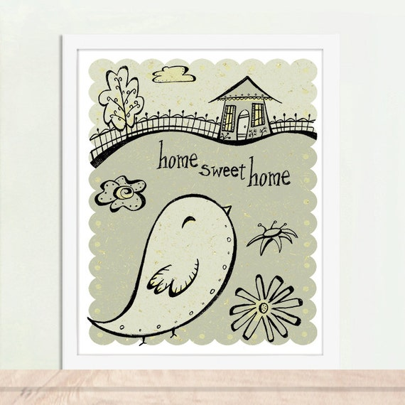 Home Sweet Home, Home Art, Home Poster