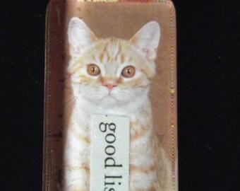 good listener cat necklace