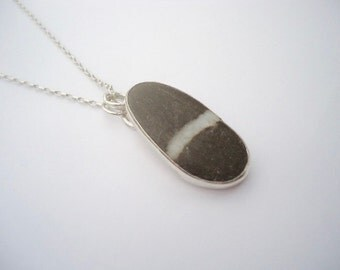 50% Summer Sale Beach Jewelry, Stone Jewellery, Beach Stone Jewelry, Beach Stone Pendant, Beach Pebble Jewelry, Beach Pebble Pendant