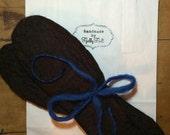100% wool felt , handmade boot & wellie warmers, perfect for walking holidays!