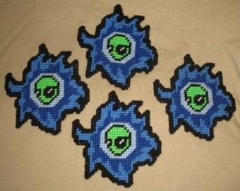 Alien Coasters Plastic canvas Pattern