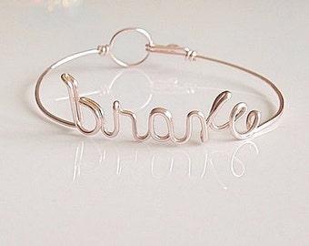 """Inspirational bracelet. """"brave"""" brave bracelet. Stay Strong, Be Brave."""