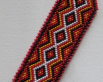 Bead weaving  bracelet, Beaded Bracelet, Native American Bracelet