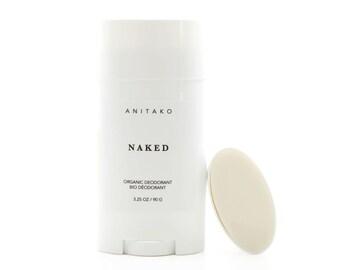 NAKED - Organic Deodorant, Natural Deodorant, Unscented, Aluminum Free, 100% Natural