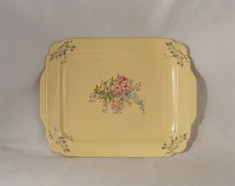 Vintage Platter Serving Plate 13 x 10