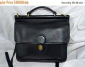 Summer Blitz Vintage Coach~Coach Bag~ Coach Willis  9927~Black  Brass Hardware Fits Ipad Perfect