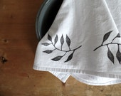 flour sack towel, dish towels, tea towel, cotton kitchen towels, block print, hostess gift ideas, housewarming gift, chef gift