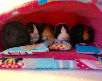 Princess fairy guinea pig bed, guinea pig hideout