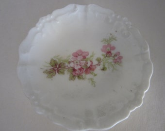 Vintage Limoges France Minature Plate Floral