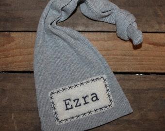 Personalized Newborn Hat - Newborn Hat -Newborn Hat - Newborn Photo Prop - Newborn Baby Name Hat - Hospital Hat - Baby Name Hat