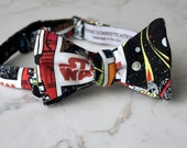 Star Wars Comics Bow Tie  - Groomsmen and wedding tie - clip on, pre-tied with strap or self tying