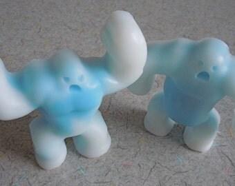 Abominable Snowmen/Boston Yeti Soaps - Set of 2 - Vegan boston guest bath decorative