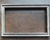 Vintage French Wooden Picture Frame circa 1920's / English Shop