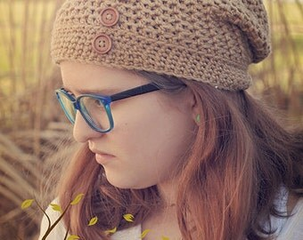 The Nocturnal Nomad Crocheted Hat Pattern