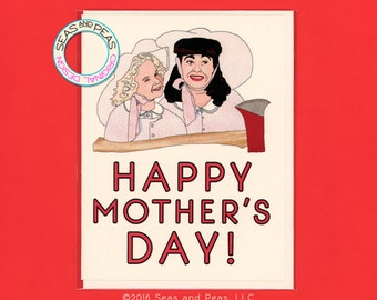 MOMMIE DEAREST MOTHER'S Day - Funny Mother's Day - Mothers Day Card - Joan Crawford - Mommie Dearest - Mothers Day - Wire Hanger - Item P045