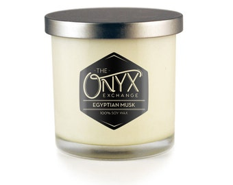 Egyptian Musk Scented - 7 oz. Soy Wax Candle