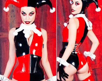 Harley Jumpsuit XS Artifice Clothing - Harley Quinn Cosplay Photoshoot sample