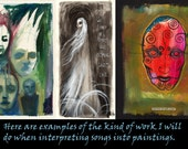 Interpreting a SONG into a PAINTING - D Fundraiser