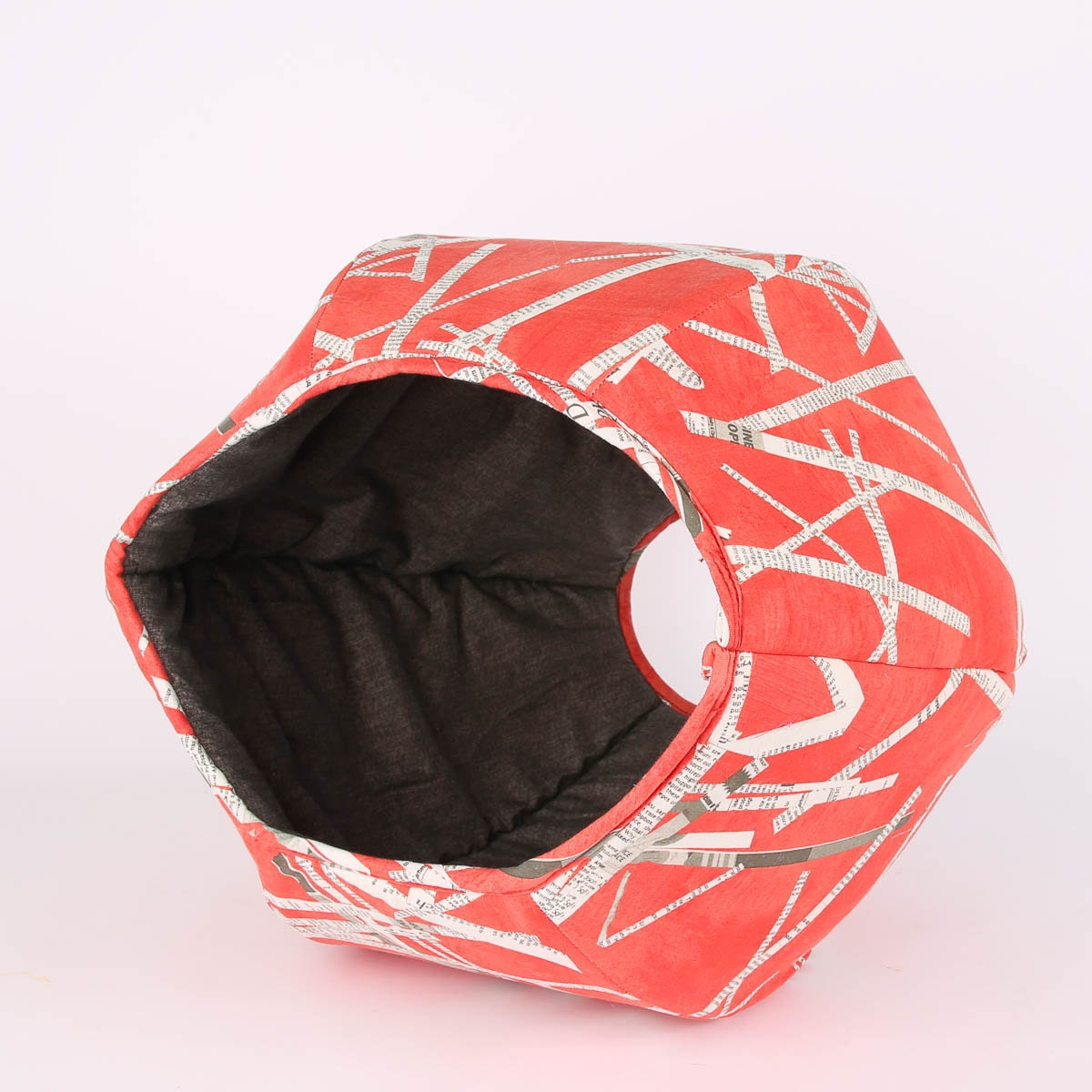 umb stoff katze bett in tomate rot katze ball. Black Bedroom Furniture Sets. Home Design Ideas