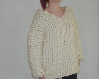 chunky knitt sweater