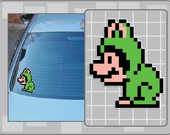 FROG MARIO Sprite vinyl decal from Super Mario Bros. 3 Sticker for almost anything!