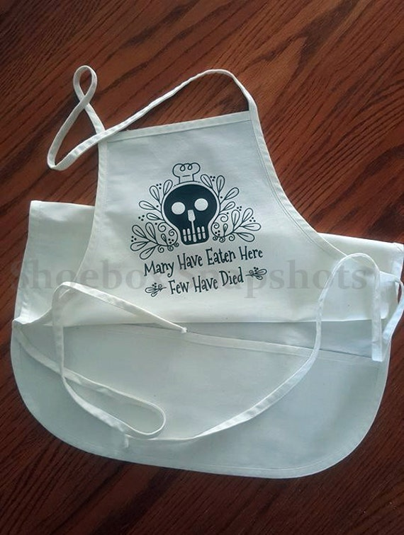 Funny Aprons Sugar Skull Aprons For Women Aprons For