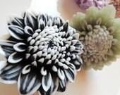 FLOWER SOAP, Chrysanthemum Flower Soap, Large Flower Soap, For Her, Garden Soap, Hostess Gift, Summer Soap, Custom Colored, Custom Scented