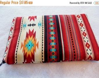 Sale-Ipad mini/Kindle 3/Nook Color / Kindle Fire / Tablet PC / eReader Sleeve Case Cover Tucson Southwestern Fabric
