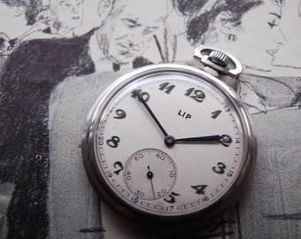 Lip Vintage Pocket Watch