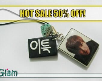SALE KPOP Super Junior Leeteuk ACha handmade Phone Charm