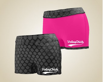 Volleyball 2For reversible spandex shorts