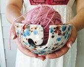 Ceramic Yarn Bowl | Knitting | Yarn Bowl | Pottery | Gift for knitters | handmade in my Charleston, SC studio
