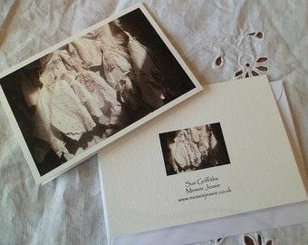 Dresses greetings card