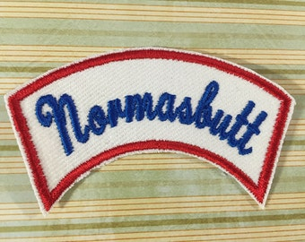 NAME PATCH - Custom Retro Style Curved