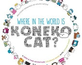 Adult Coloring Book - Where in the World Is Koneko Cat? Coloring Book: A Seek & Find Coloring Adventure (33957935)