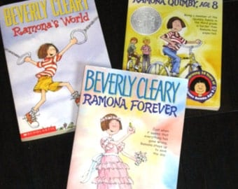 Scholastic Ramona Quimby Book Collection by Beverly Cleary