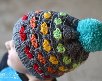 Toddler Puppy Love Hat PDF Download