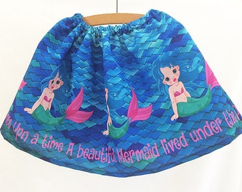 Childs Mermaid Skirt By Rooby Lane