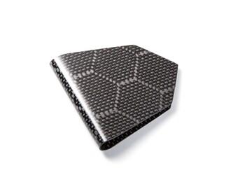 M3 Wasp Weave Carbon Fiber 3 Point Money Clip
