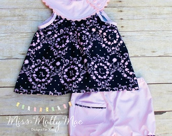 ABC Blondie top with Darby Shorts Set Size 4/5 Ready to Ship
