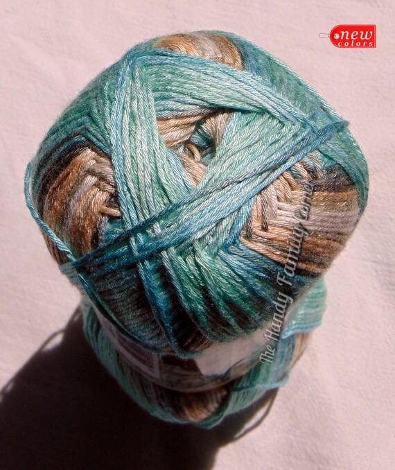 Alize Bamboo Fine Yarn hypoallergenic yarn batik by HandyFamily