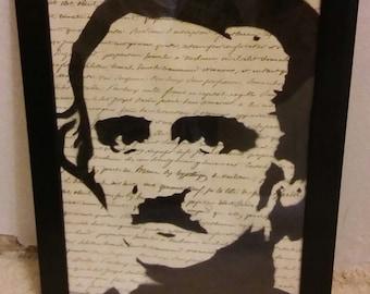 Edgar Allen Poe (frame/words)