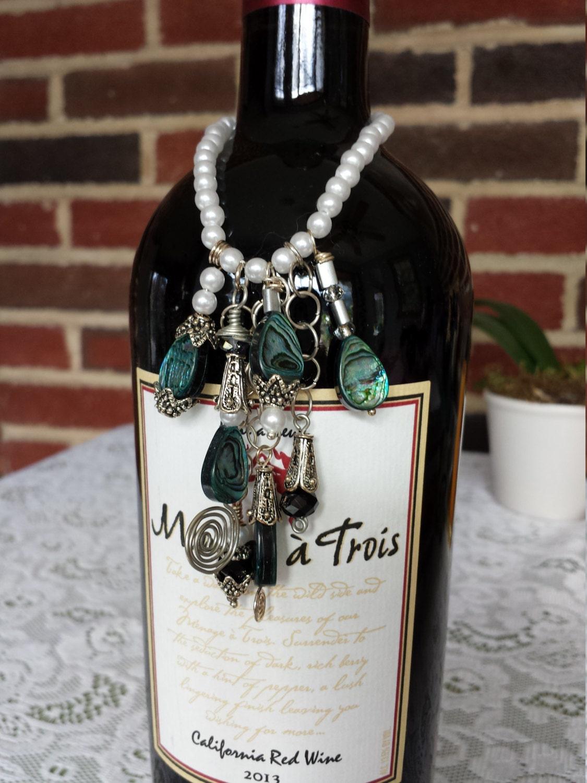 wine bottle neck charm wine bottle charms wine bottle wine